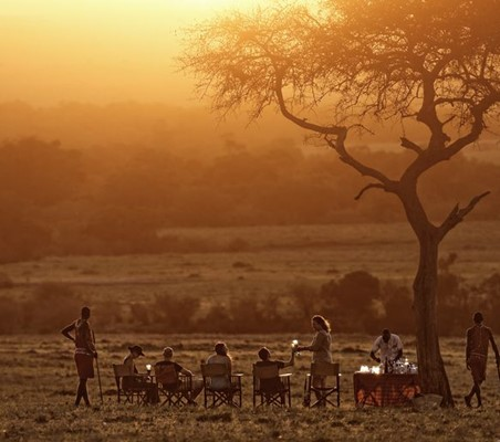 Mara Bush Camp Eve